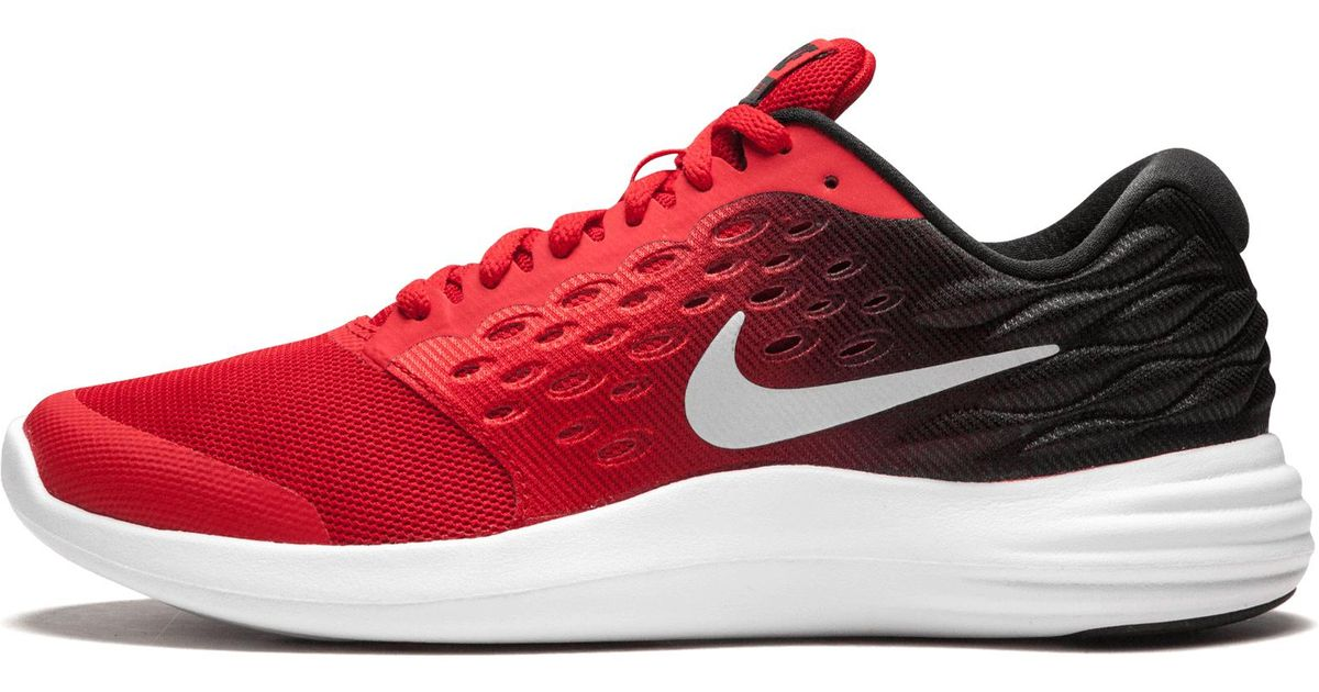 brand new 60921 b24aa Nike Lunarstelos in Red - Lyst