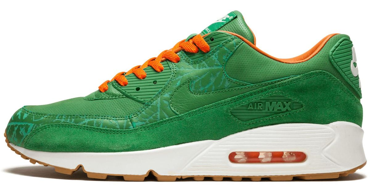 new style ac605 a6a3f Lyst - Nike Air Max 90 Premium in Green for Men