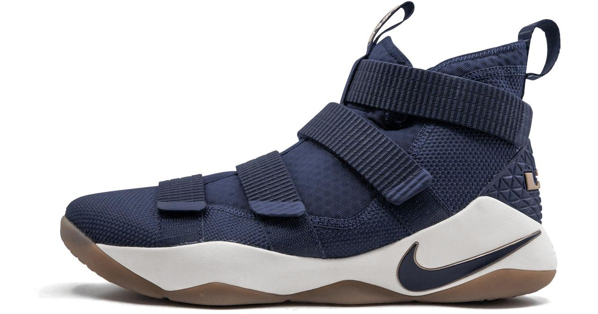 5e6be8f62ac Lyst - Nike Lebron Soldier 11 in Blue for Men