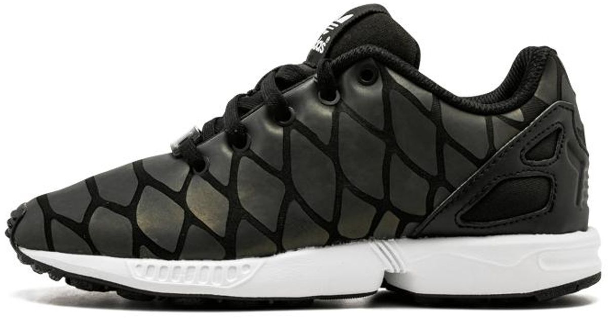 Adidas Black Zx Flux Xenopeltis K - Size 6k for men