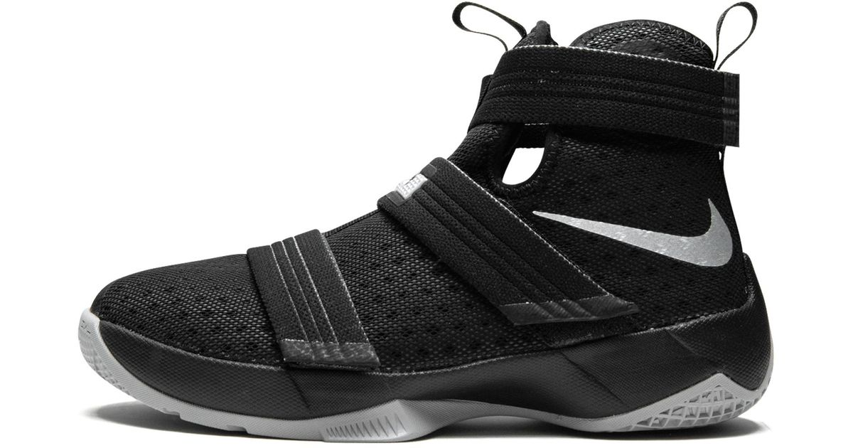 brand new 9c257 80365 Lyst - Nike Lebron Soldier 10 (gs) in Black for Men