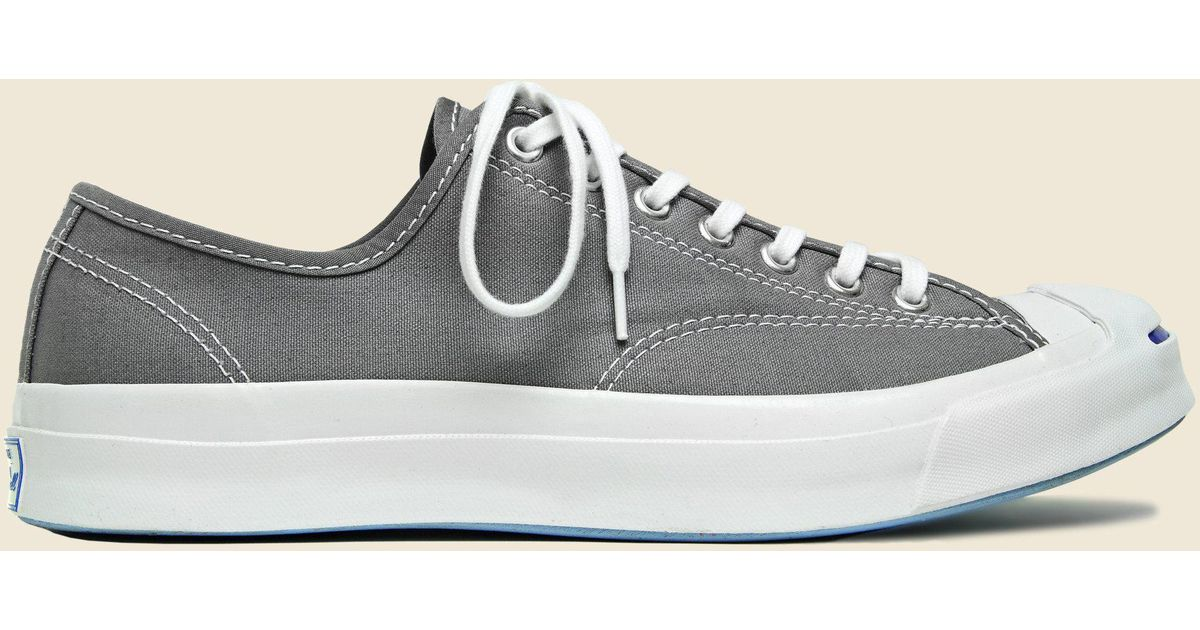 f5228453933087 Lyst - Converse Jack Purcell Signature - Mason in Gray for Men
