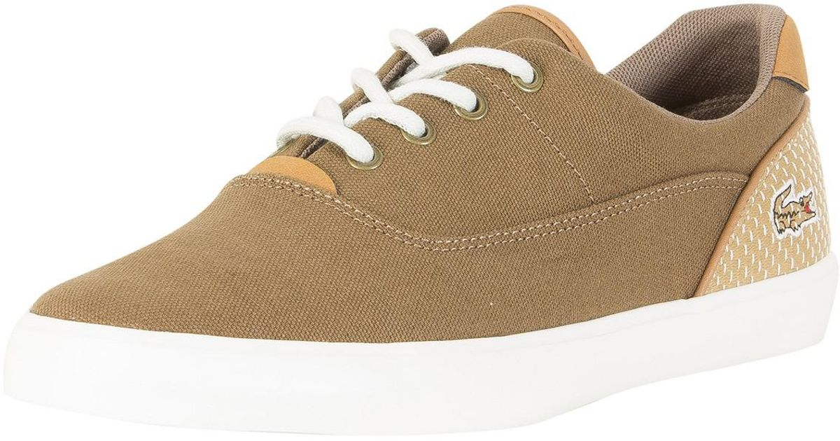 huge discount 7ad7d 6fcb3 lacoste-brown-Brownlight-Tan-Jouer-Lace-118-1-Cam-Trainers.jpeg