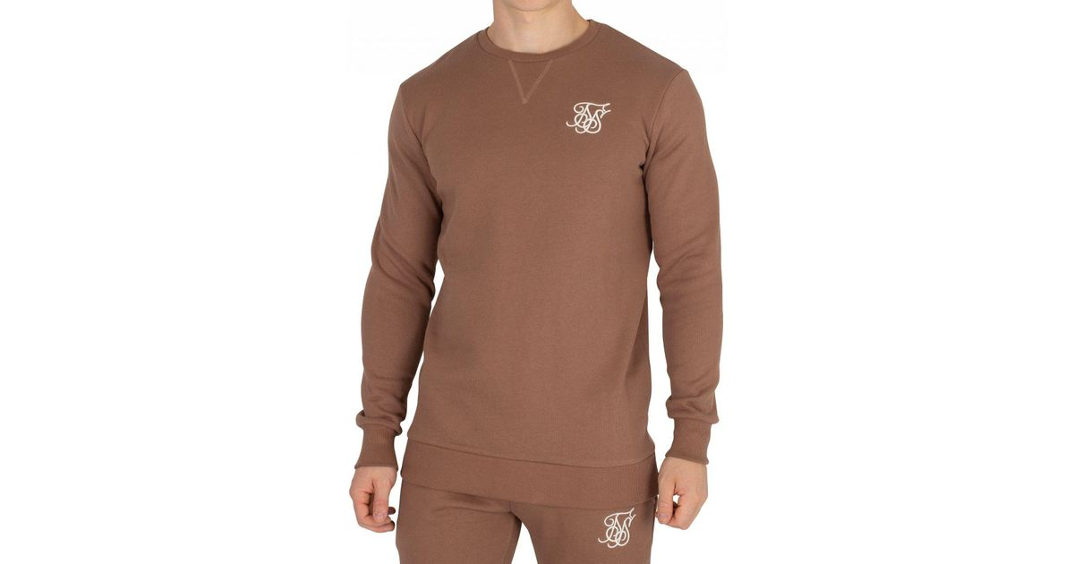 23f356be8e5b Lyst - Sik Silk Men s Logo Sweatshirt