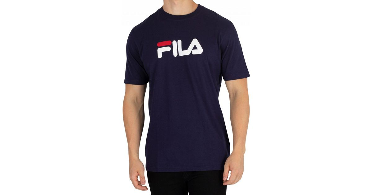 ef5fbac8f00a6 Fila Vintage Peacoat/white/red Eagle T-shirt in White for Men - Lyst