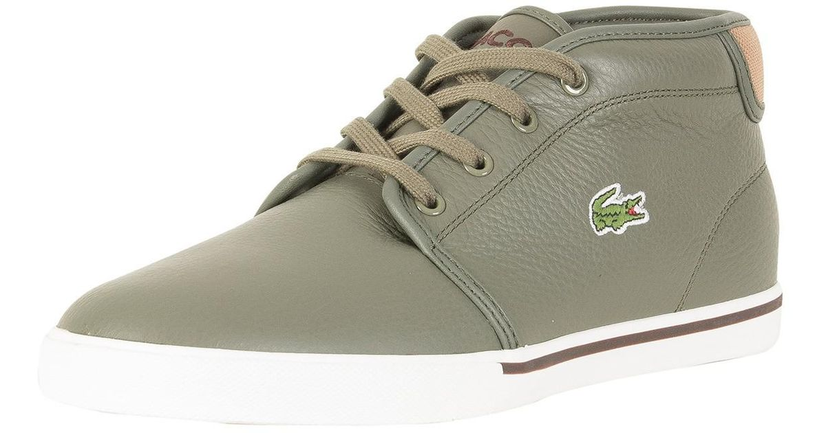 Mens Ampthill 118 2 Cam Hi-Top Trainers Lacoste