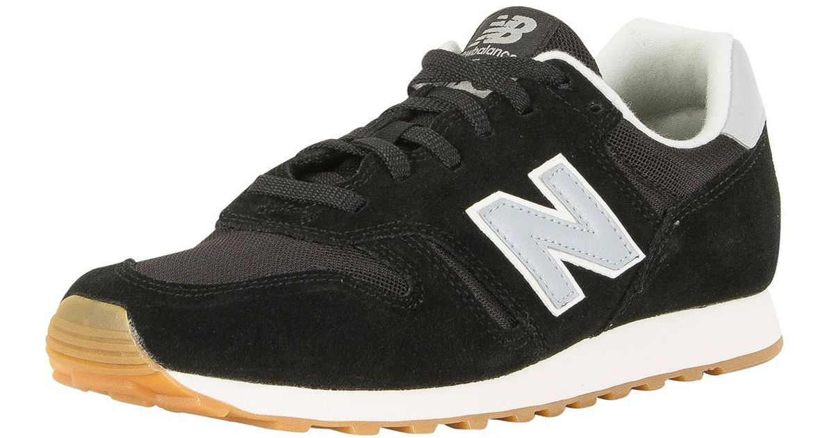 7128ecd3e7b New Balance Black light Blue 373 Trainers in Black for Men - Lyst