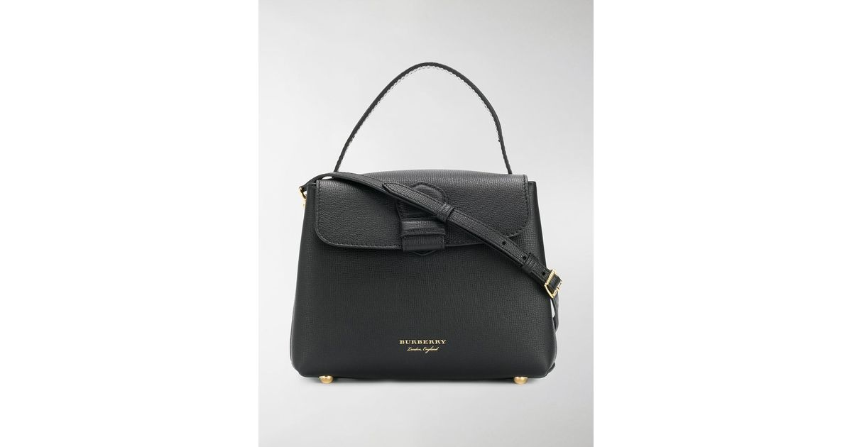 55ee3cf18 Burberry Small Camberley Tote in Black - Lyst