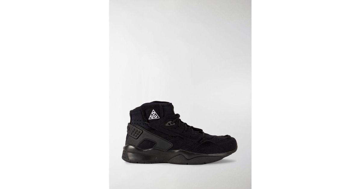 1696b4c02d Nike Cdg Mowabb Sneakers in Black for Men - Lyst