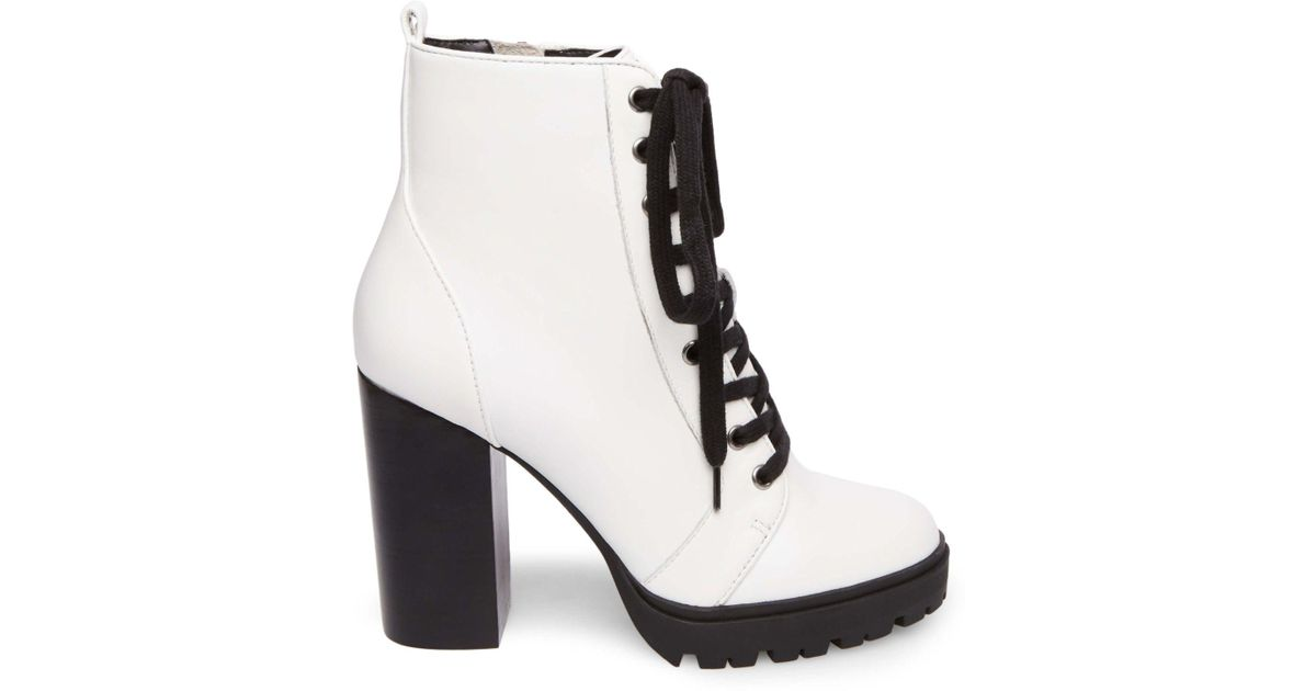 8a5e8ca5227 Lyst - Steve Madden Laurie in White