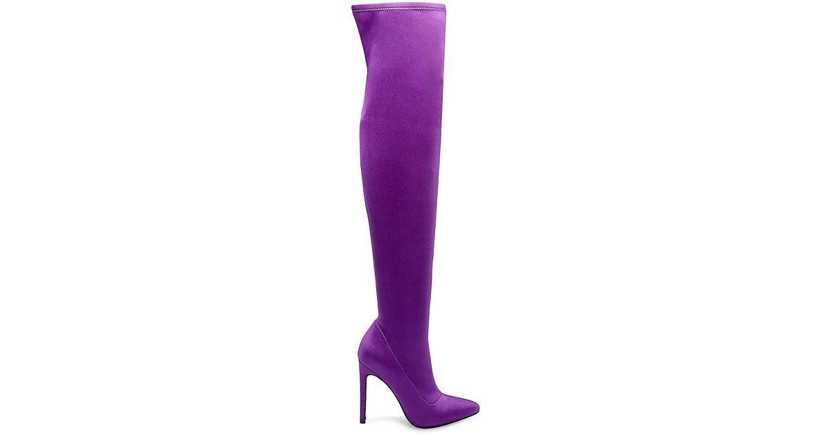 f263445ff0a Lyst - Steve Madden Slammin in Purple