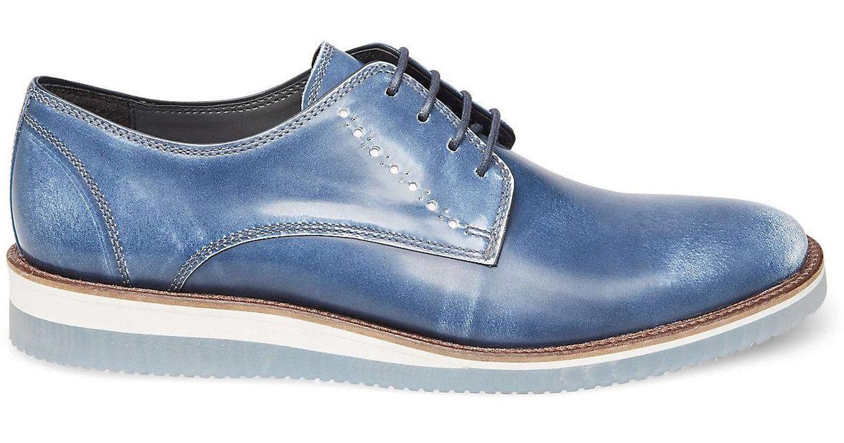 6a4d2a723f8 Steve Madden - Blue Intern Oxford for Men - Lyst