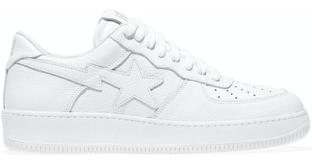 1f45e3bbf36c Lyst - A Bathing Ape A Bathing Ape Sta Ronnie Fieg Fiegsta White in White  for Men