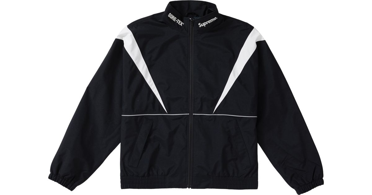c8bfc2e9 Supreme Gore-tex Court Jacket (ss19) Black in Black for Men - Lyst