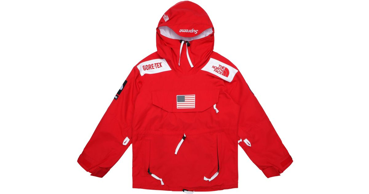Supreme The North Face Trans Antarctica Expedition Pullover Jacket Red In For Men Lyst