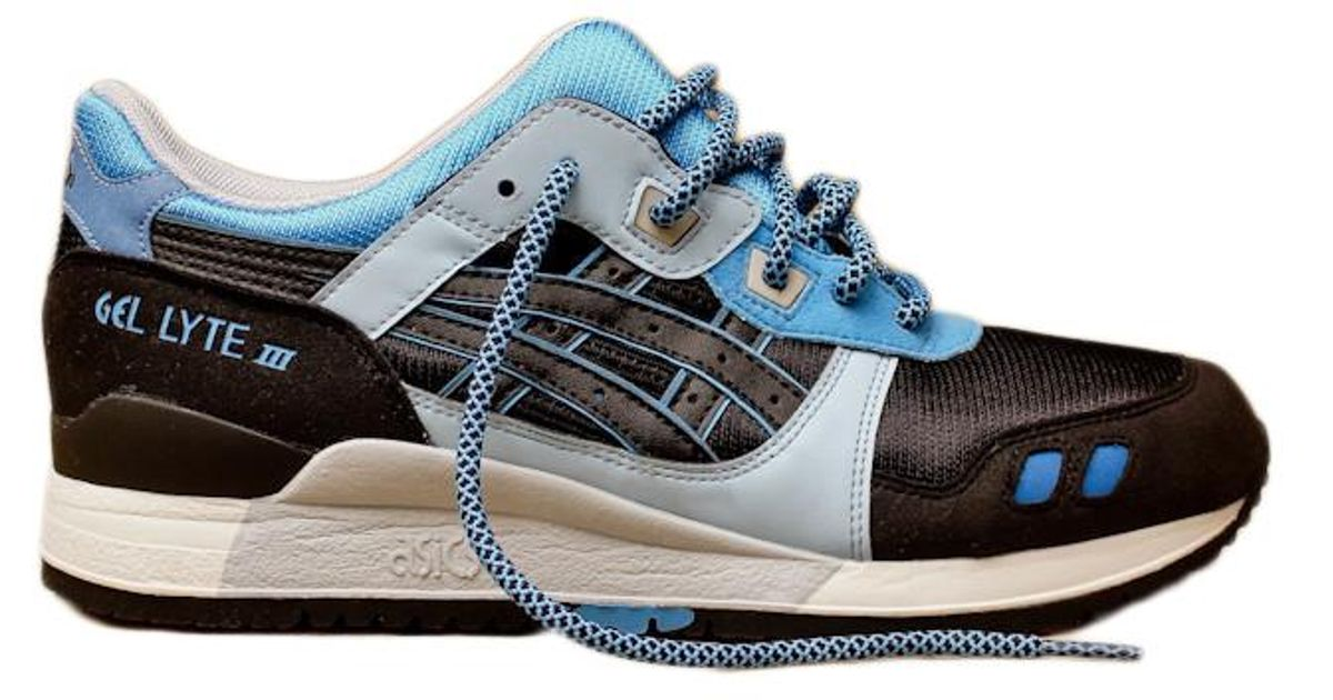 089cd3a8 Asics Gel-lyte Iii Kithstrike Black Carolina Blue in Blue for Men - Lyst