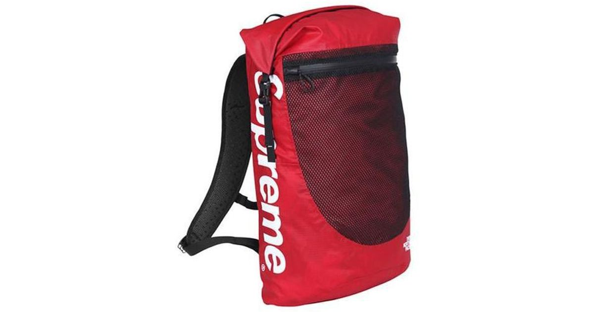 9af08b9d13 Supreme The North Face Waterproof Backpack Red in Red for Men - Lyst