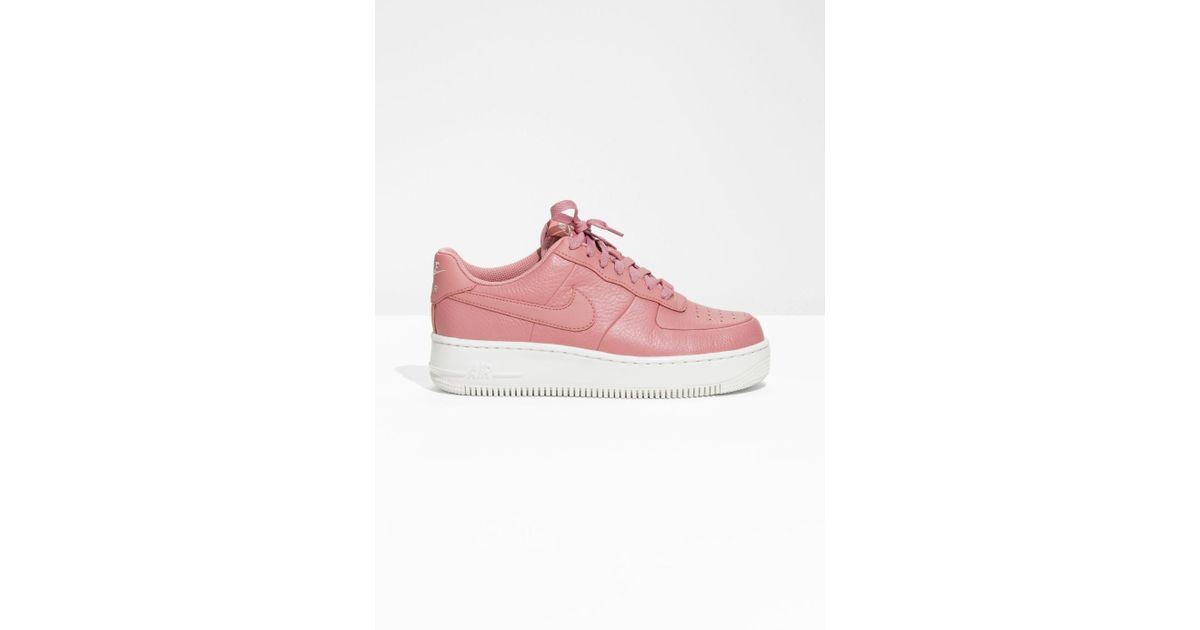 new style 9c27f 53702 ... order lyst other stories nike air force 1 upstep in pink 5cebb 95419