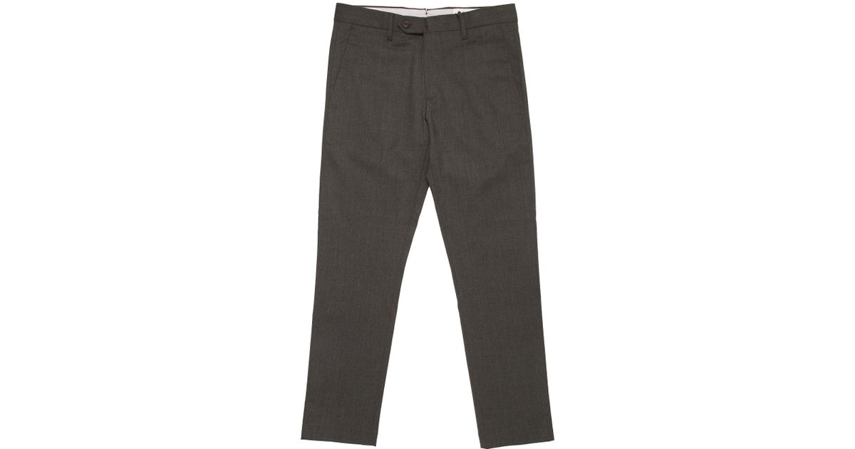 New Theo Slim-fit Cotton-blend Trousers Nn.07 DRmuWX