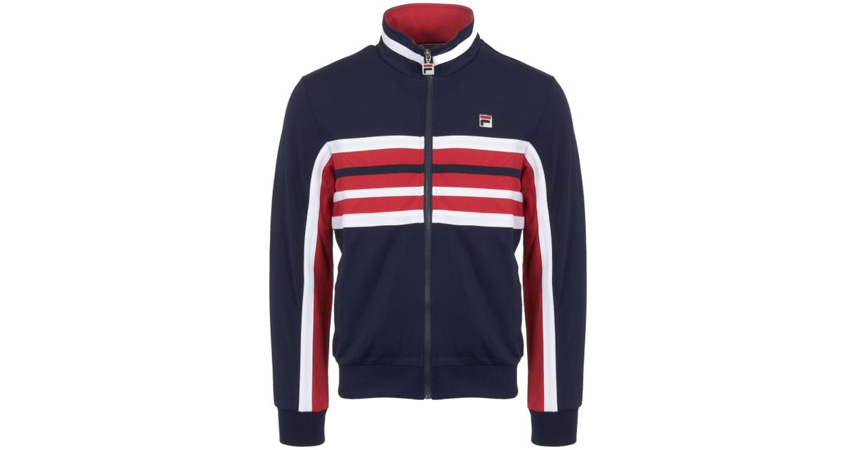 Monti In Men Track For Blue Top Peacoat Lyst Vintage Fila x8qUEXw