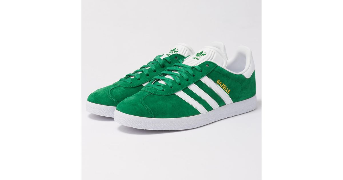 3e0667acd adidas Originals Gazelle Sneakers in Green for Men - Lyst