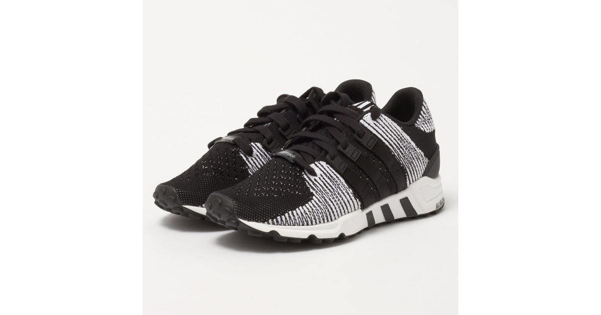 buy online a45c7 60794 Adidas Originals Eqt Support Rf Primeknit - Core Black  Ftw White in Black  for Men - Save 2.816901408450704% - Lyst