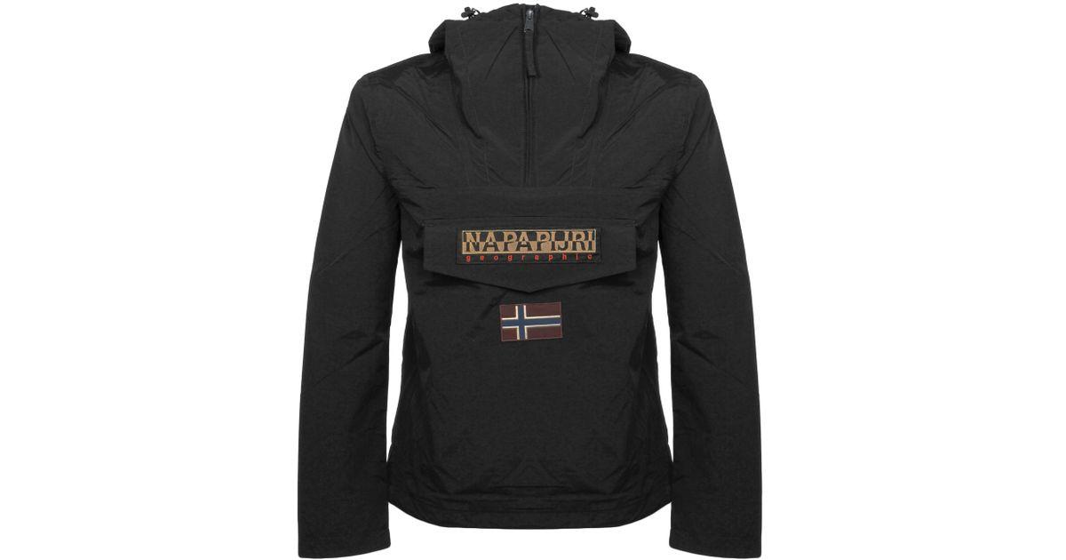 083be2cec6a9 Napapijri Rainforest M Sum Black Cagoule Jacket in Black for Men - Lyst