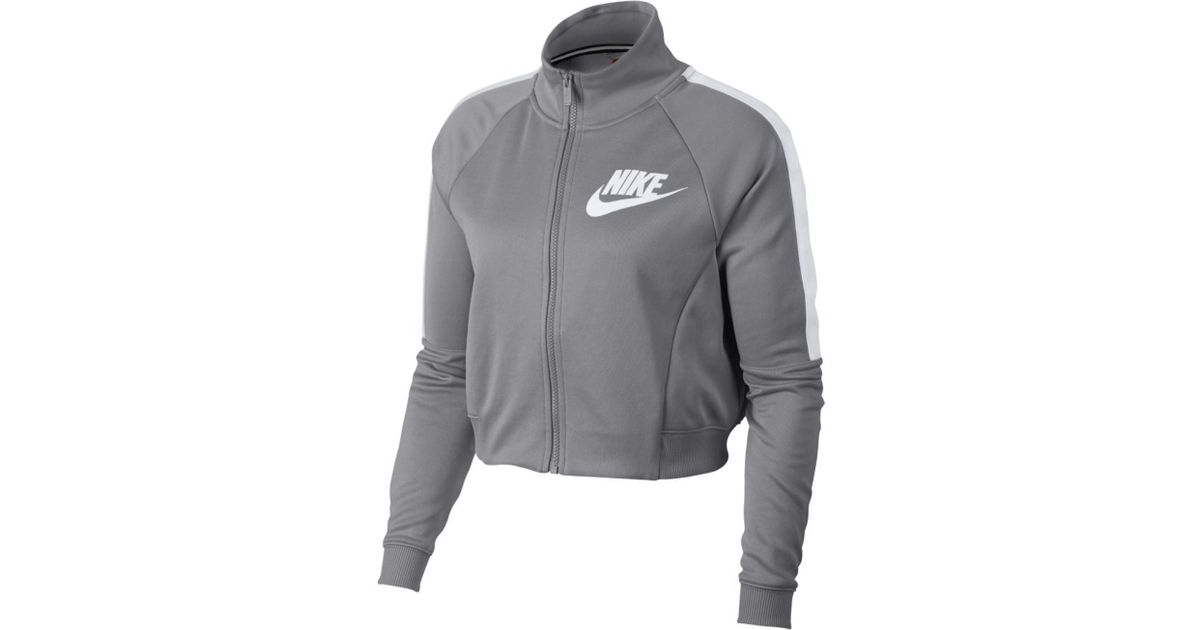 d71a29d0d755 Lyst - Nike N98 Track Top - Atmosphere Grey in Gray for Men - Save 23%