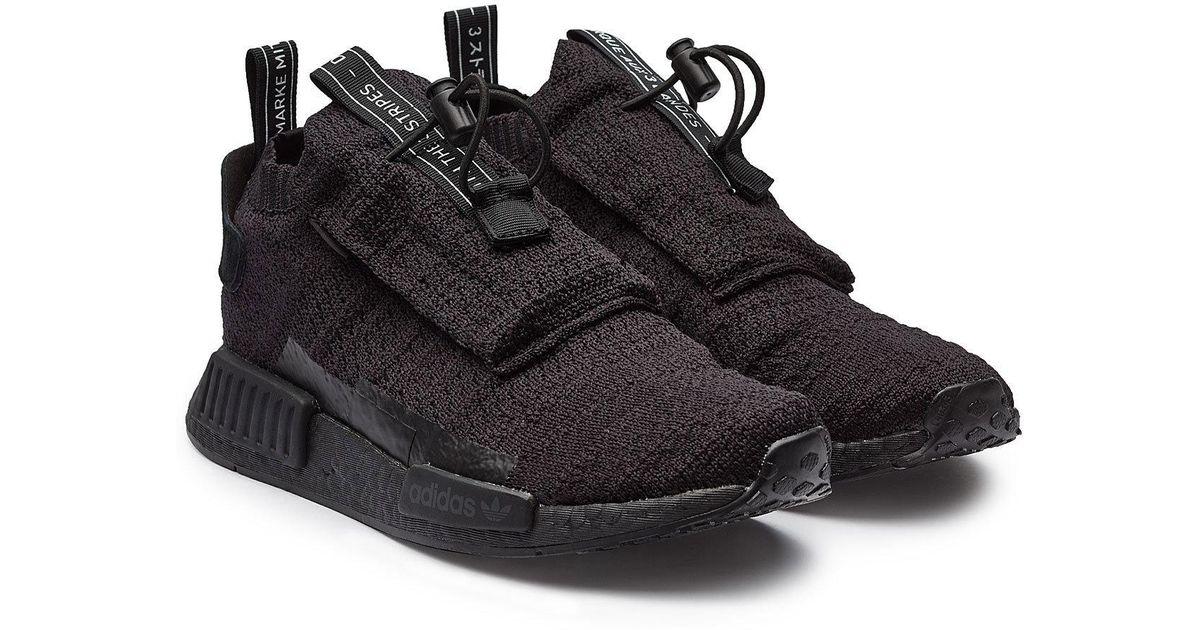 best service 338fc 9c56a adidas Originals Nmdts1 Pk Gore-tex Primeknit Sneakers in Black for Men -  Lyst