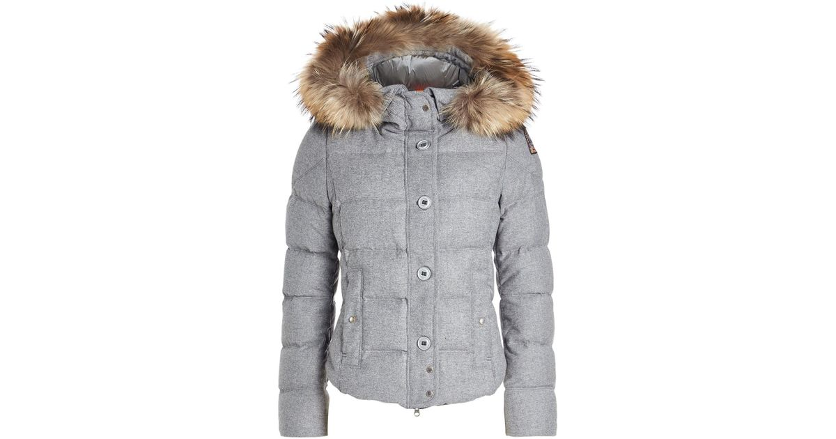 parajumpers WOOL DOWN GREY