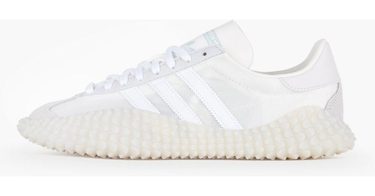 the latest 0aee9 12835 Lyst - adidas Originals Countryxkamanda in White
