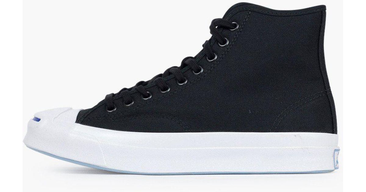 89a0d76a289af1 Converse Jack Purcell Qs Sing Hi in Blue for Men - Lyst