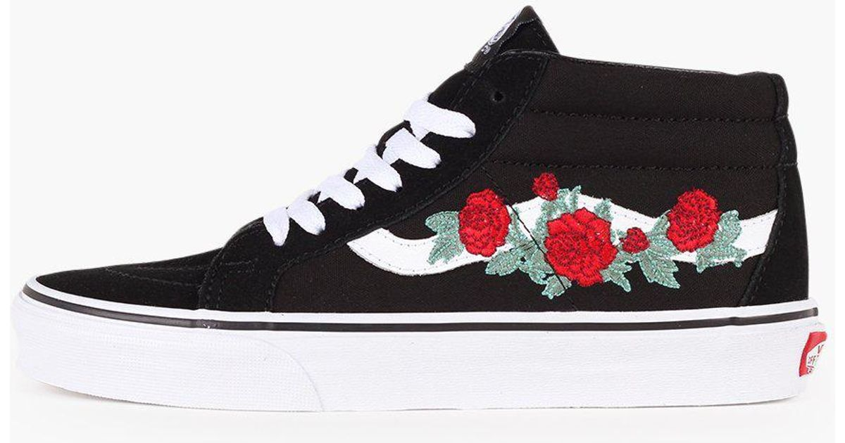 vans authentic rose thorns