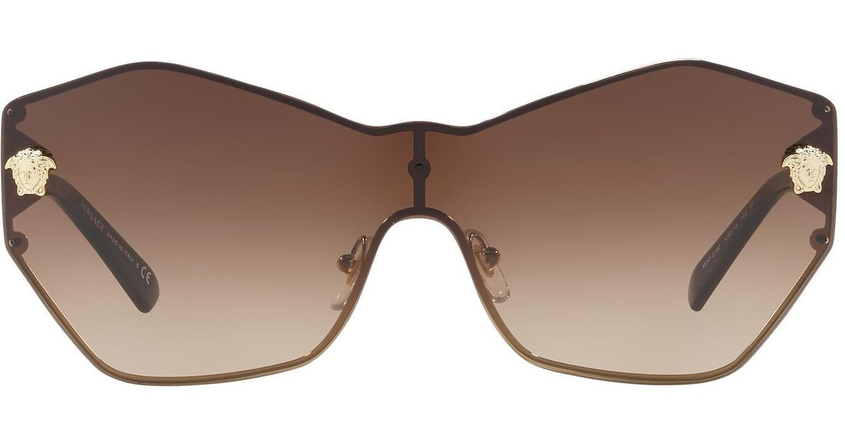 aa97522dc33 Lyst - Versace Ve2182 43 in Brown