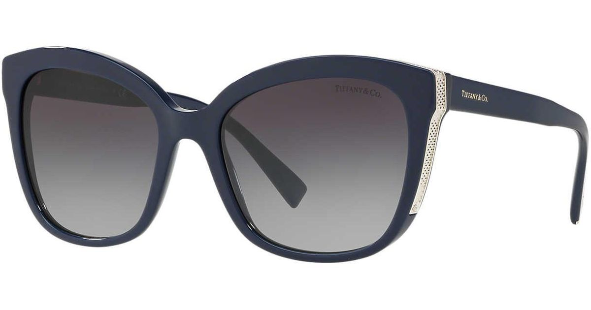 c4a5dbe6aa0a Tiffany   Co Sunglass Tf4150 55 in Gray - Lyst