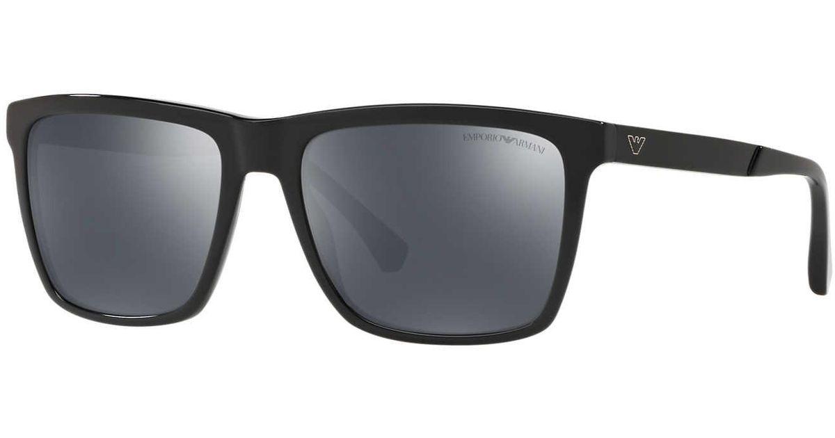 7d169db4fce4 Emporio Armani Sunglass Ea4117 57 in Gray for Men - Lyst