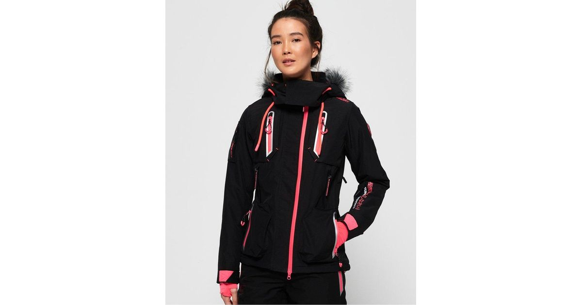 d81868ff2b Lyst - Superdry Ultimate Snow Action Jacket in Black