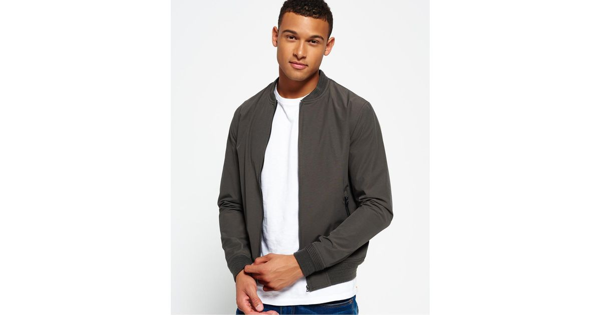 Jacket Gray For Superdry Shadow Men Lyst Goods In Bomber Surplus 1ZwqdYq