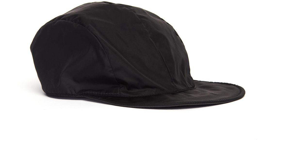 6beec26684dfa7 Lyst - Hender Scheme Black Nylon Reversible Cap in Black for Men