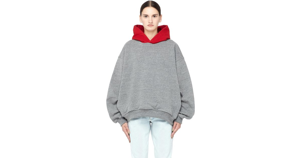 3c92a6780107 Fear Of God Heavy Terry Everyday Hoodie in Gray - Lyst