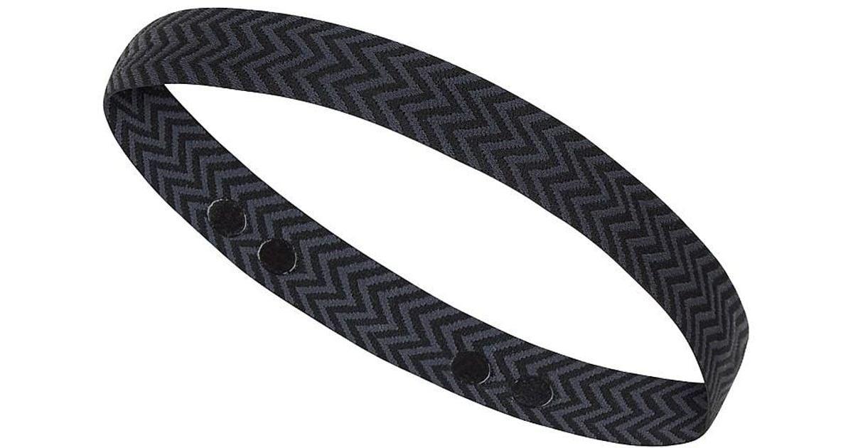 Lyst - Sweaty Betty Medium Headband in Black 409c7c7ab29
