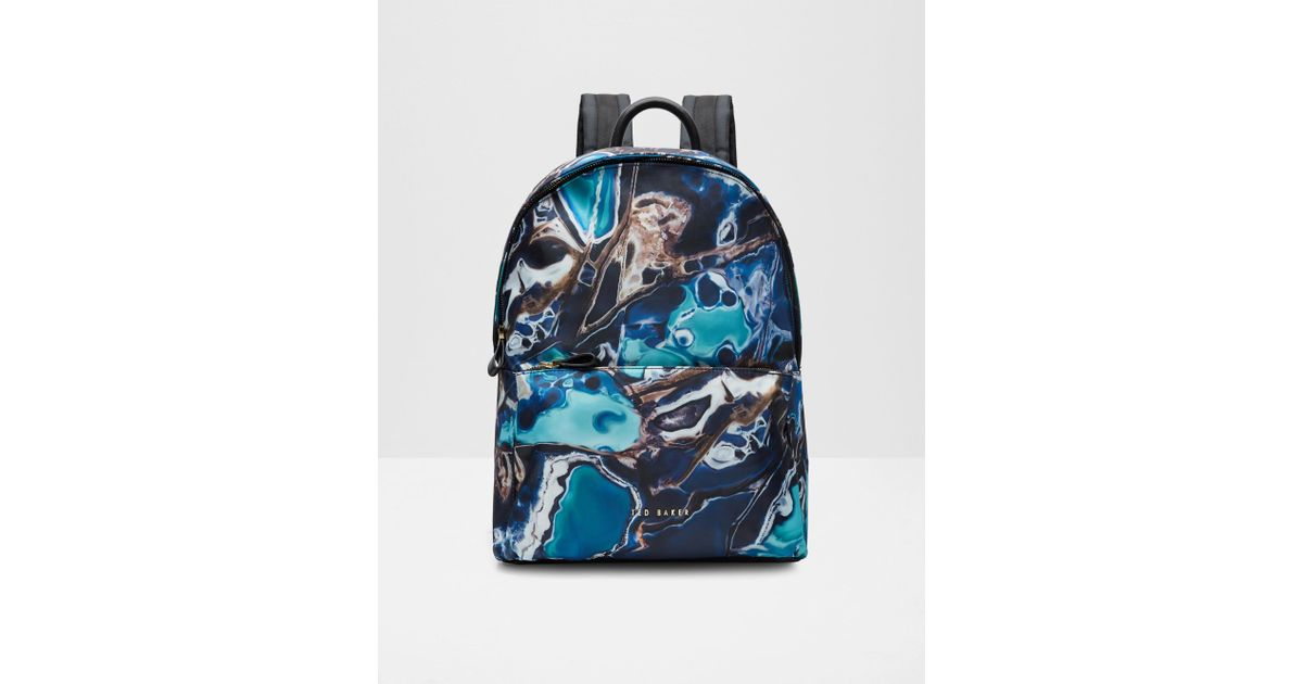 bfdb5ba06c87 Ted Baker Blue Lagoon Backpack in Blue - Lyst