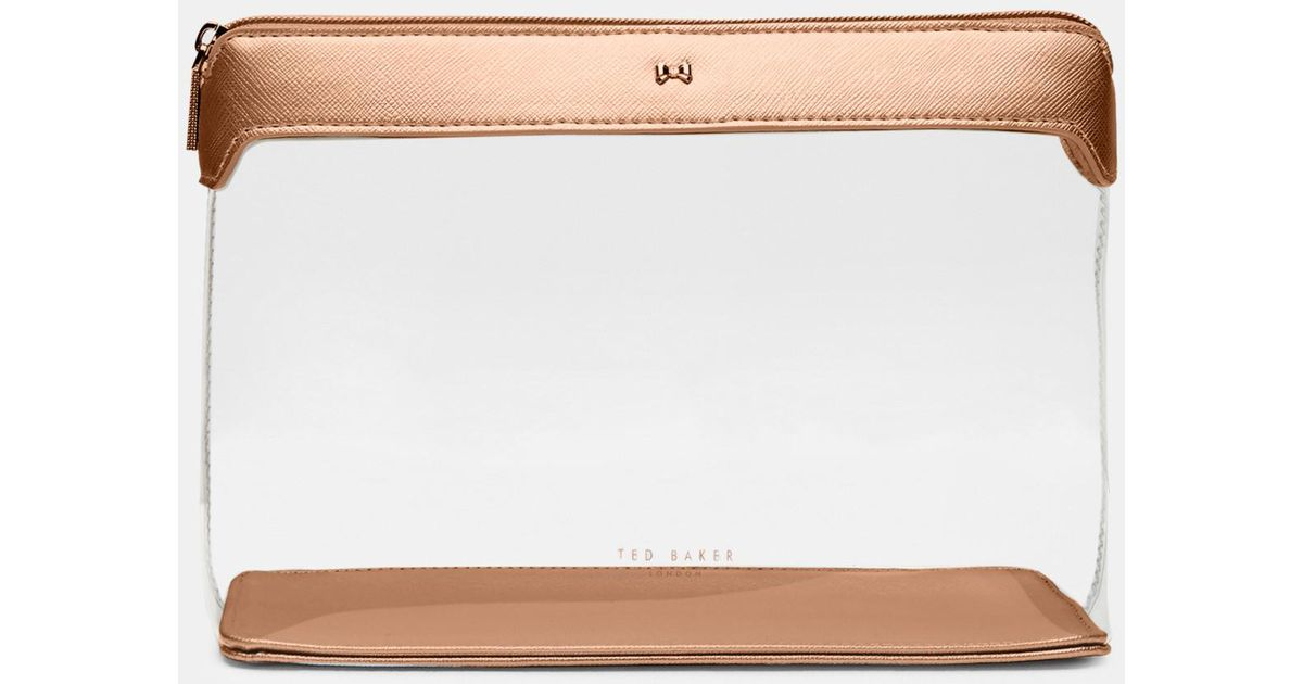 03f3f53cd9e7 Ted Baker Clear Large Wash Bag - Lyst