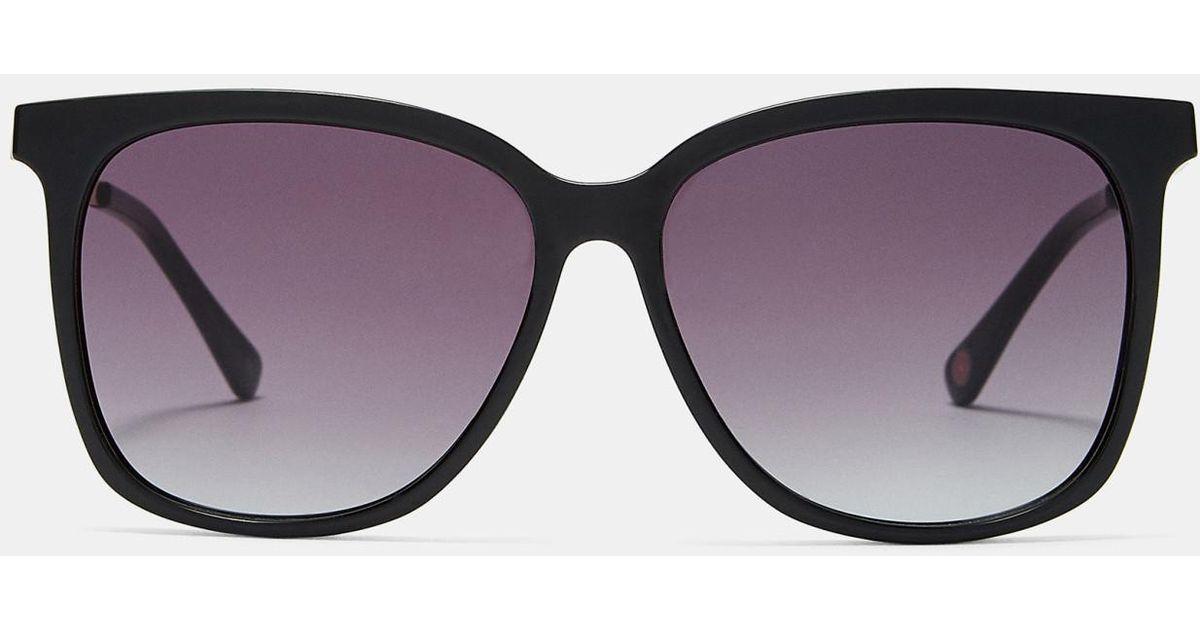 Metallic Detail Square Sunglasses Ted Baker sqA96