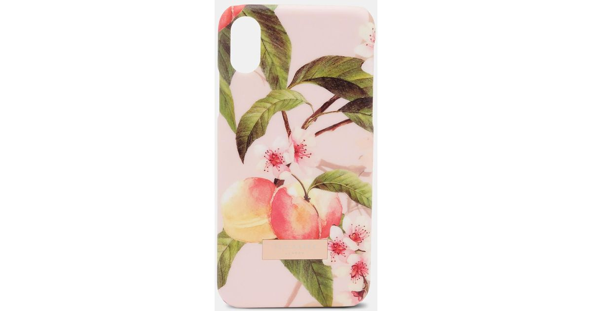 Peach Blossom Iphone X Clip Case Ted Baker f7hBijDN