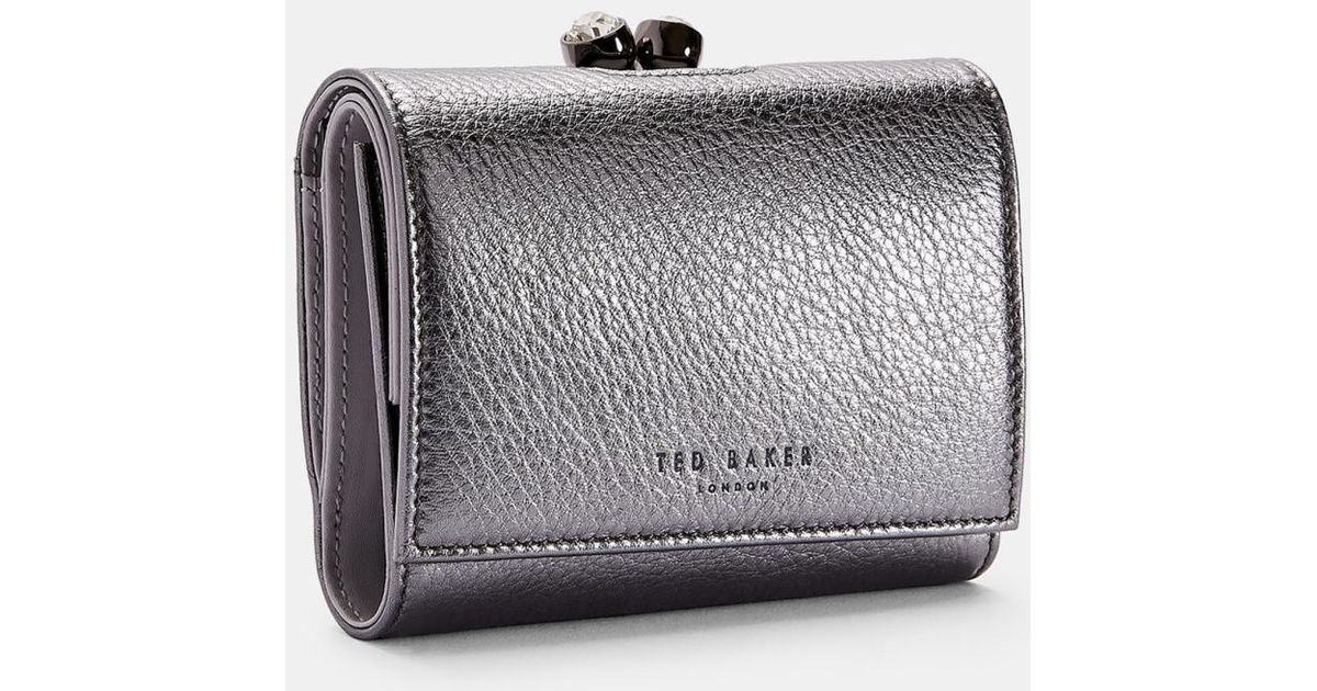 71b65614cc20b Ted Baker Mini Leather Bobble Purse - Lyst