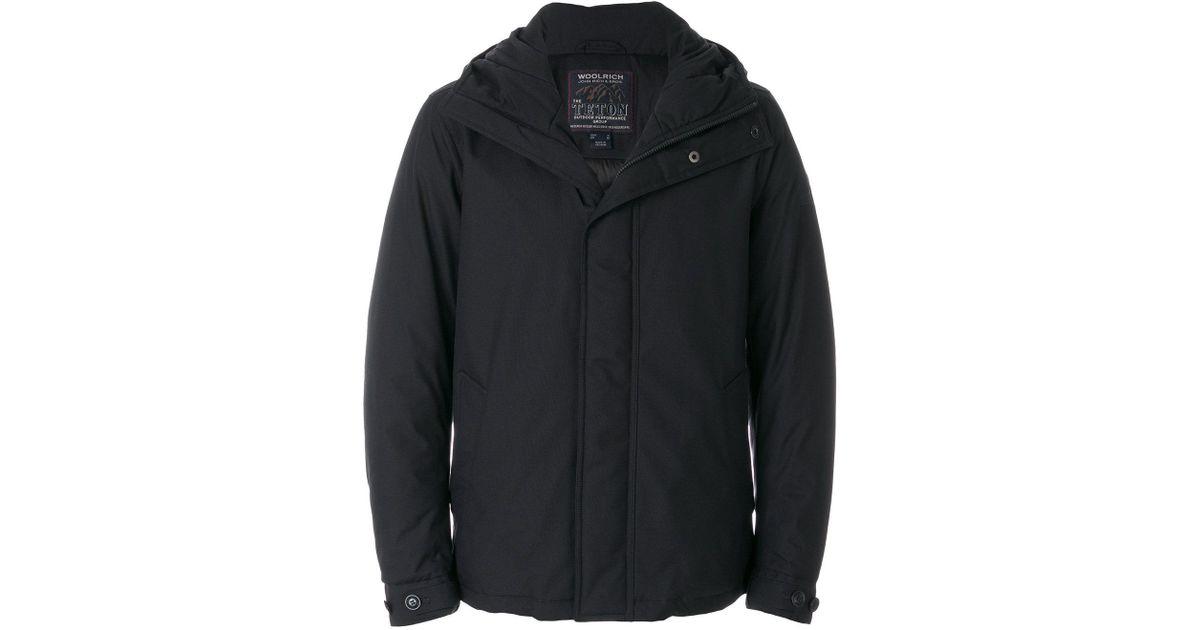 teton rudder jacket  Woolrich Teton Rudder Jacket in Blue for Men - Lyst