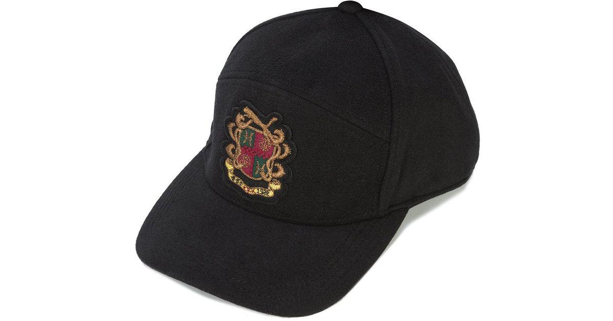 880cf7afbe5 Lyst - Puma Crest Cap in Black for Men