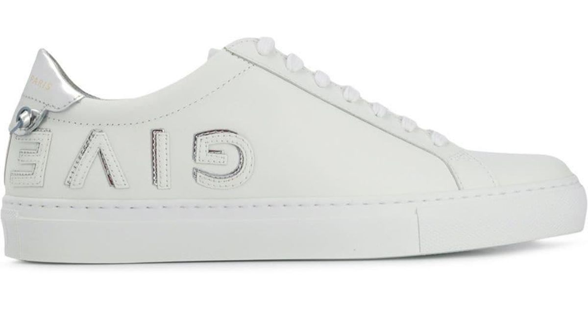 f2d60e670f0df Givenchy - White Urban Street Leather Sneakers - Lyst