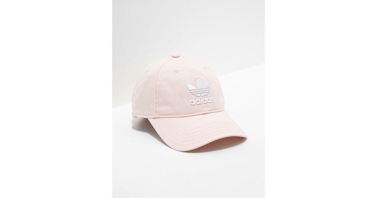 455e5bddd4f Lyst - adidas Originals Mens Trefoil Classic Cap Pink in Pink for Men